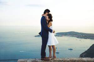 sea, couple